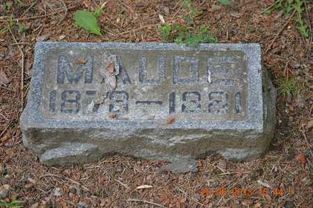 ABBOTT, MAUDE O. - Branch County, Michigan | MAUDE O. ABBOTT - Michigan Gravestone Photos