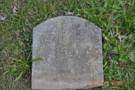 ABBOTT, SAMUEL H. - Branch County, Michigan   SAMUEL H. ABBOTT - Michigan Gravestone Photos