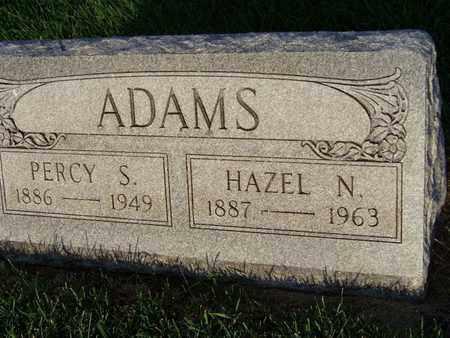 ADAMS, PERCY - Branch County, Michigan | PERCY ADAMS - Michigan Gravestone Photos
