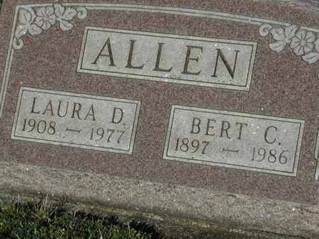 ALLEN, BERT - Branch County, Michigan | BERT ALLEN - Michigan Gravestone Photos