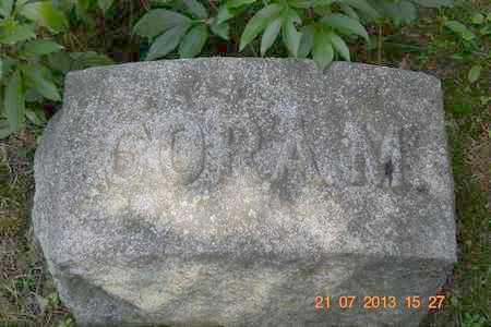ALLEN, CORA M. - Branch County, Michigan   CORA M. ALLEN - Michigan Gravestone Photos