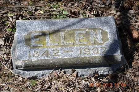 ALLEN, ELLEN - Branch County, Michigan | ELLEN ALLEN - Michigan Gravestone Photos