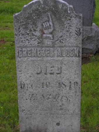 ALLEN, EBENEZER - Branch County, Michigan   EBENEZER ALLEN - Michigan Gravestone Photos
