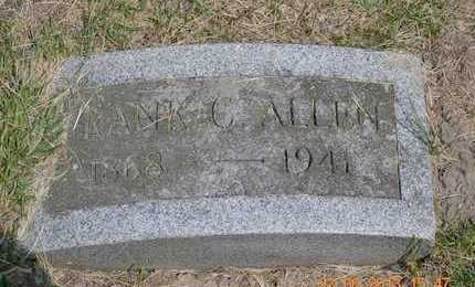ALLEN, FRANK C. - Branch County, Michigan   FRANK C. ALLEN - Michigan Gravestone Photos