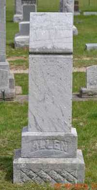ALLEN, MARY ELLEN - Branch County, Michigan | MARY ELLEN ALLEN - Michigan Gravestone Photos
