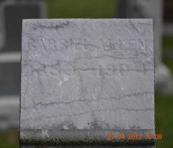 ALLEN, GABRIEL(CLOSEUP) - Branch County, Michigan | GABRIEL(CLOSEUP) ALLEN - Michigan Gravestone Photos