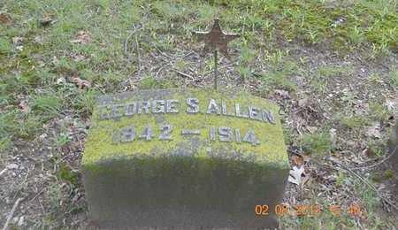 ALLEN, GEORGE S. - Branch County, Michigan | GEORGE S. ALLEN - Michigan Gravestone Photos