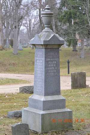 ALLEN, HIRAM - Branch County, Michigan | HIRAM ALLEN - Michigan Gravestone Photos