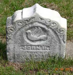 ALLEN, JOHN H. - Branch County, Michigan   JOHN H. ALLEN - Michigan Gravestone Photos