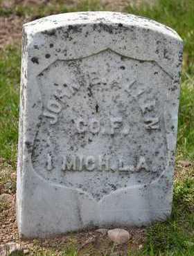 ALLEN, JOHN B.(CIVIL WAR) - Branch County, Michigan | JOHN B.(CIVIL WAR) ALLEN - Michigan Gravestone Photos
