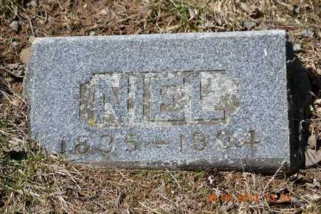 ALLEN, NIEL - Branch County, Michigan | NIEL ALLEN - Michigan Gravestone Photos