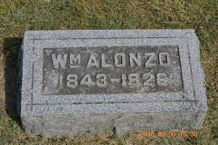 ALLEN, WILLIAM ALONZO - Branch County, Michigan | WILLIAM ALONZO ALLEN - Michigan Gravestone Photos