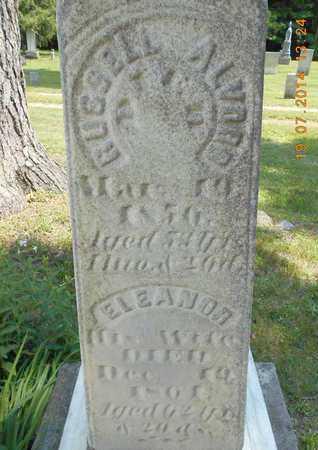 ALVORD, ELEANOR - Branch County, Michigan | ELEANOR ALVORD - Michigan Gravestone Photos