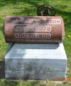 ANDERSON, MAMIE B. - Branch County, Michigan | MAMIE B. ANDERSON - Michigan Gravestone Photos