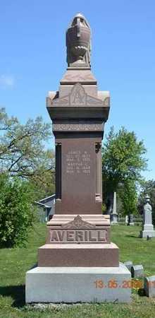 AVERILL, JAMES/MARTHA - Branch County, Michigan   JAMES/MARTHA AVERILL - Michigan Gravestone Photos