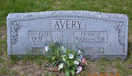 AVERY, ELLEN - Branch County, Michigan   ELLEN AVERY - Michigan Gravestone Photos