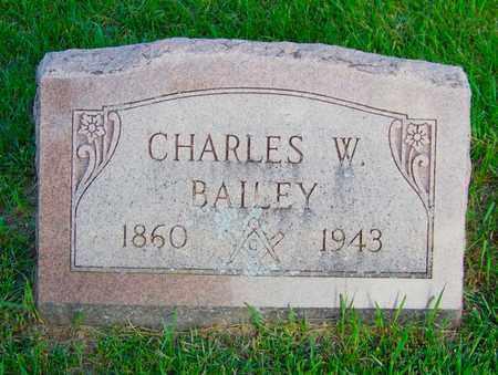 BAILEY, CHARLES - Branch County, Michigan | CHARLES BAILEY - Michigan Gravestone Photos