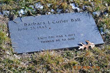 BALL, BARBARA J. - Branch County, Michigan | BARBARA J. BALL - Michigan Gravestone Photos