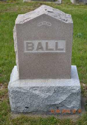 BALL, LOT MARKER - Branch County, Michigan | LOT MARKER BALL - Michigan Gravestone Photos