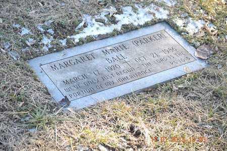 BALL, MARGARET MARIE - Branch County, Michigan | MARGARET MARIE BALL - Michigan Gravestone Photos