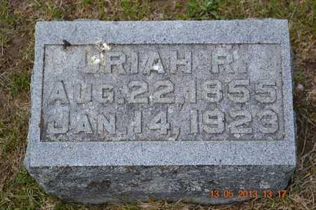 BALL, URIAH R. - Branch County, Michigan | URIAH R. BALL - Michigan Gravestone Photos