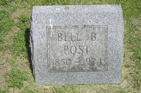 POST BARNES, BELLE B. - Branch County, Michigan | BELLE B. POST BARNES - Michigan Gravestone Photos