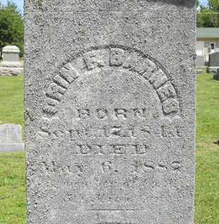 BARNES, ORIN F. - Branch County, Michigan | ORIN F. BARNES - Michigan Gravestone Photos