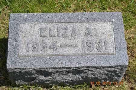 BASCOM, ELIZA A. - Branch County, Michigan   ELIZA A. BASCOM - Michigan Gravestone Photos