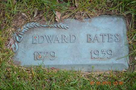 BATES, EDWARD - Branch County, Michigan | EDWARD BATES - Michigan Gravestone Photos
