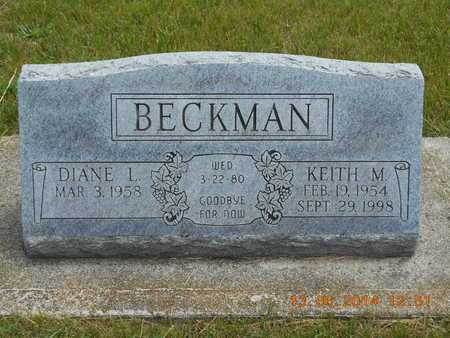 BECKMAN, KEITH M. - Branch County, Michigan | KEITH M. BECKMAN - Michigan Gravestone Photos