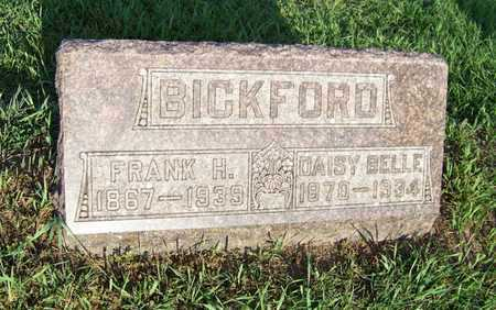 BICKFORD, FRANK - Branch County, Michigan | FRANK BICKFORD - Michigan Gravestone Photos