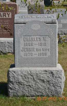 BILLMAN, JENNIE - Branch County, Michigan | JENNIE BILLMAN - Michigan Gravestone Photos