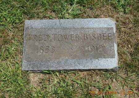 BISBEE, FRED TOWER - Branch County, Michigan   FRED TOWER BISBEE - Michigan Gravestone Photos