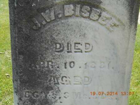 BISBEE, J.W. - Branch County, Michigan | J.W. BISBEE - Michigan Gravestone Photos