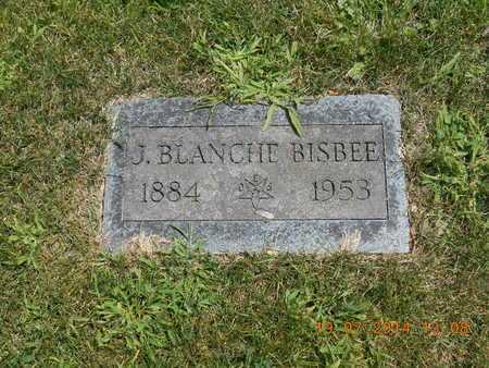 BISBEE, J. BLANCHE - Branch County, Michigan | J. BLANCHE BISBEE - Michigan Gravestone Photos