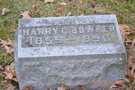 BOWKER, HARRY G. - Branch County, Michigan | HARRY G. BOWKER - Michigan Gravestone Photos