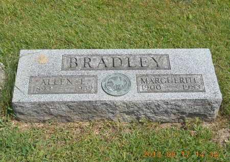 BRADLEY, ALLEN E. - Branch County, Michigan | ALLEN E. BRADLEY - Michigan Gravestone Photos