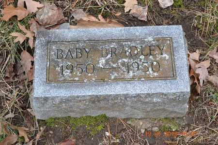 BRADLEY, BABY BOY - Branch County, Michigan | BABY BOY BRADLEY - Michigan Gravestone Photos