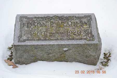 BRADLEY, EDSON P. - Branch County, Michigan   EDSON P. BRADLEY - Michigan Gravestone Photos