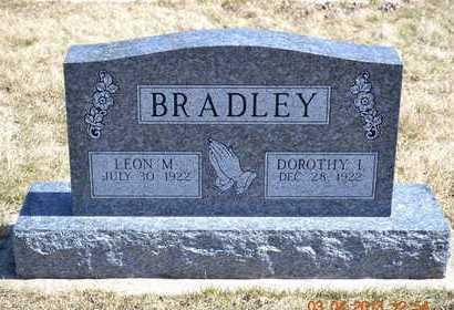 BRADLEY, LEON M. - Branch County, Michigan | LEON M. BRADLEY - Michigan Gravestone Photos