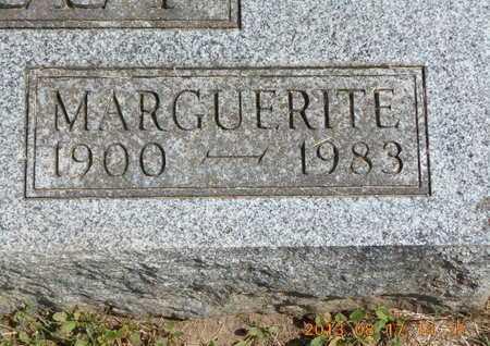 BRADLEY, MARGUERITE - Branch County, Michigan   MARGUERITE BRADLEY - Michigan Gravestone Photos