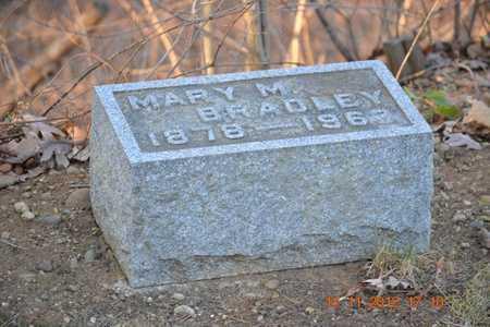 BRADLEY, MARY M. - Branch County, Michigan | MARY M. BRADLEY - Michigan Gravestone Photos