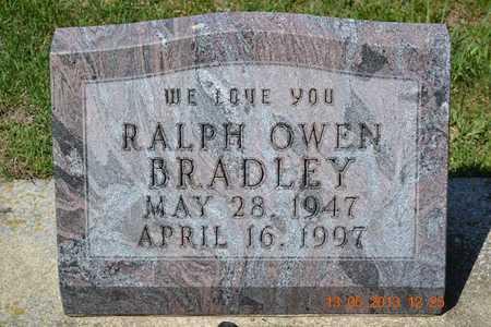 BRADLEY, RALPH OWEN - Branch County, Michigan   RALPH OWEN BRADLEY - Michigan Gravestone Photos