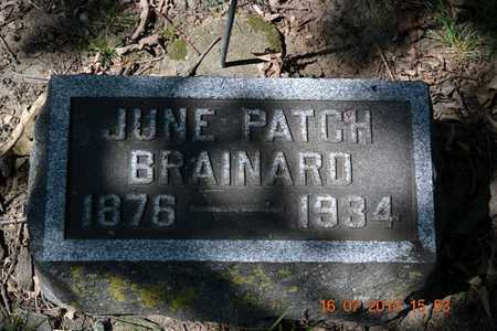BRAINARD, JUNE - Branch County, Michigan | JUNE BRAINARD - Michigan Gravestone Photos