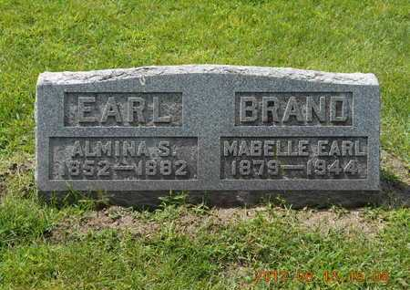 EARL BRAND, MABELLE - Branch County, Michigan | MABELLE EARL BRAND - Michigan Gravestone Photos