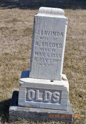 BROOKS, J. LAVINDA - Branch County, Michigan   J. LAVINDA BROOKS - Michigan Gravestone Photos