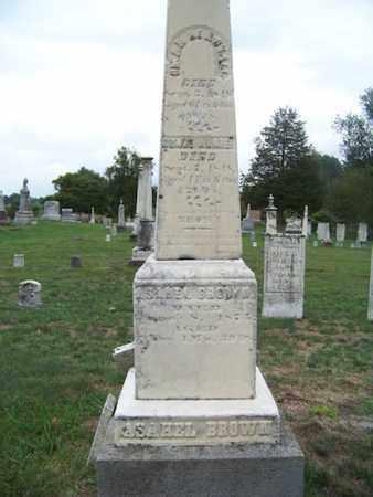 BROWN, C. OTHELIA - Branch County, Michigan | C. OTHELIA BROWN - Michigan Gravestone Photos