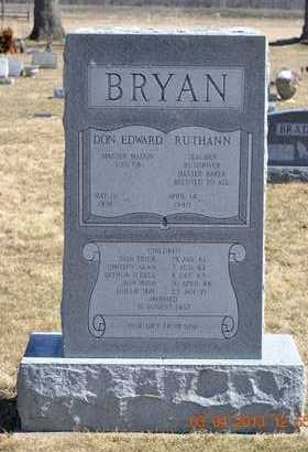 BRYAN, DOLLIE MAY - Branch County, Michigan | DOLLIE MAY BRYAN - Michigan Gravestone Photos