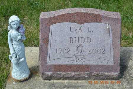 BUDD, EVA L. - Branch County, Michigan | EVA L. BUDD - Michigan Gravestone Photos