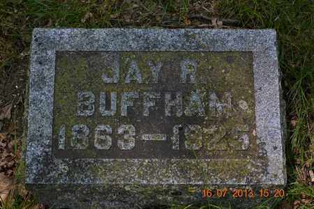 BUFFHAM, JAY R. - Branch County, Michigan | JAY R. BUFFHAM - Michigan Gravestone Photos